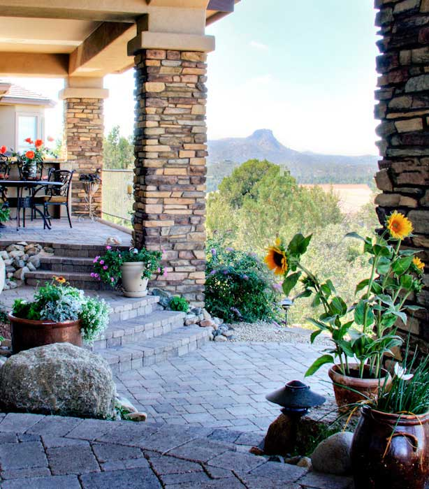 Unique Custom Home Features - Outdoor Living